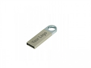 Stalowy pendrive USB z grawerem 16GB